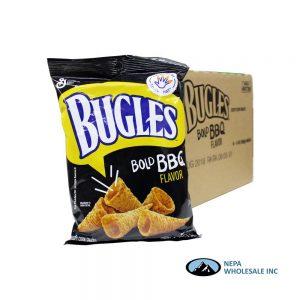 .Bugles 6/3Oz Bold BBQ