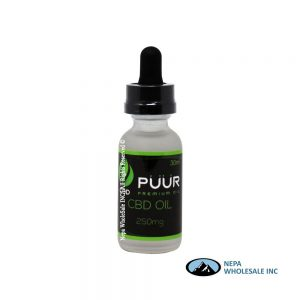 Puur 250 mg CBD Oil 30ml