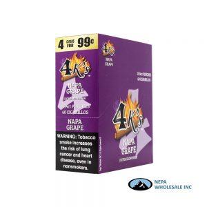 GT 4 Kings Grape 4 for $0.99 15 PK