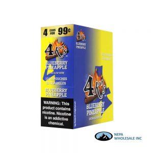 GT 4 Kings Blueberry Pineapple 4 for $0.99 15 PK