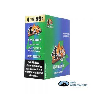 GT 4 Kings Kiwi Berry 4 for $0.99 15 PK