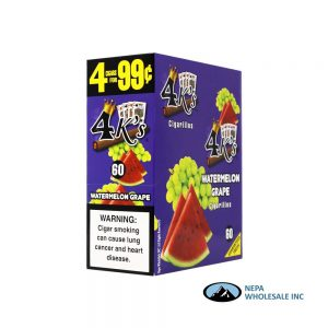 GT 4 Kings Watermelon Grape 4 for $0.99 15 PK