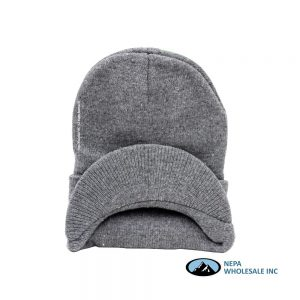 Woolen Cap with Visor 12 CT