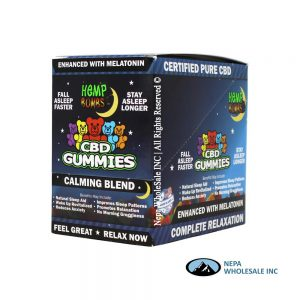 Hemp Bombs 12CT CBD Gummies with Melatonin