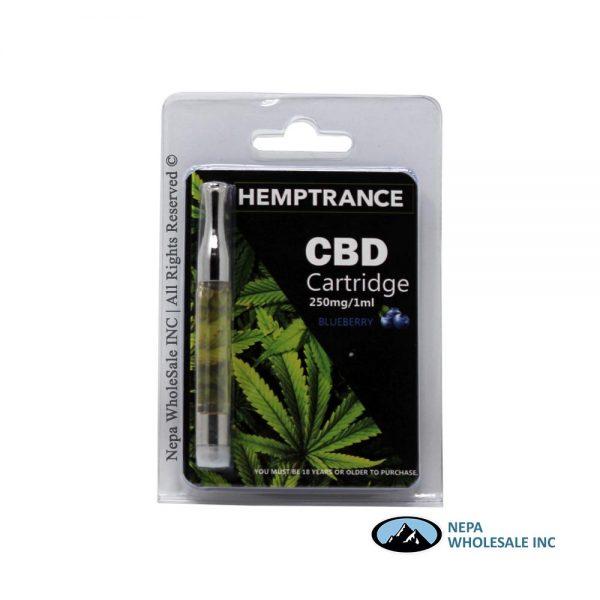 Hemptrance CBD Cartridge 250mg Blueberry