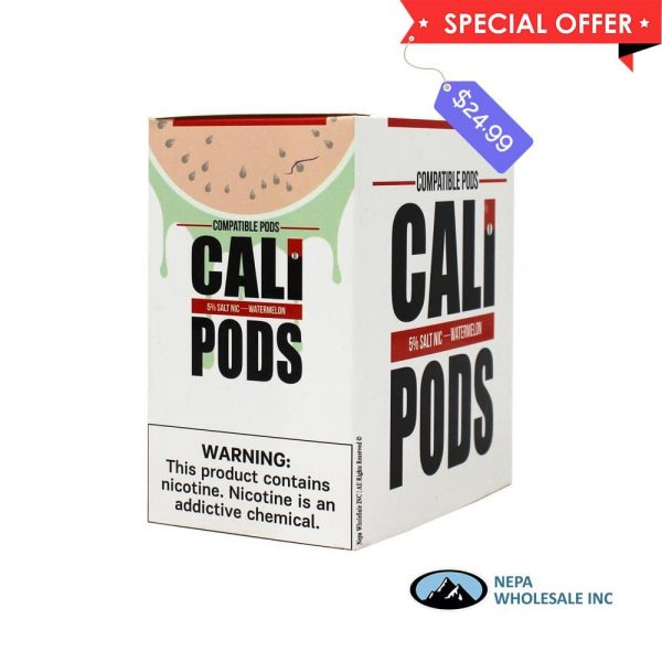 Cali Pods 8 CT Watermelon 5% Strength