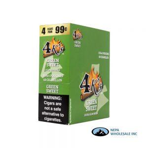 GT 4 Kings Green Sweet 4 for $0.99 15 PK
