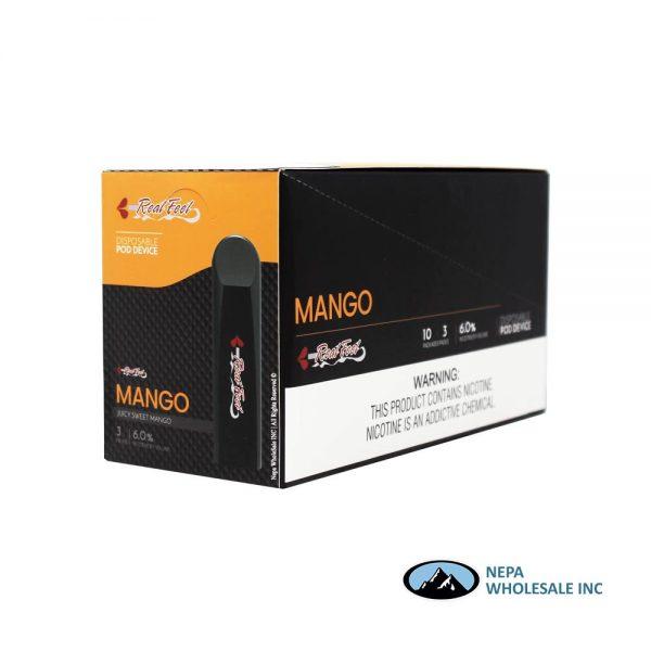 Real Feel 10-3PK Mango Disposable Pod Device