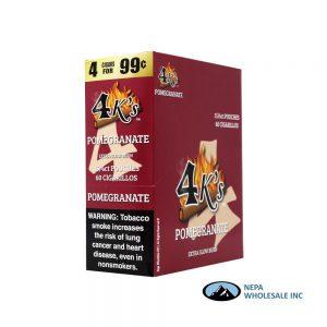 GT 4 Kings Pomegranate 4 for $0.99 15 PK