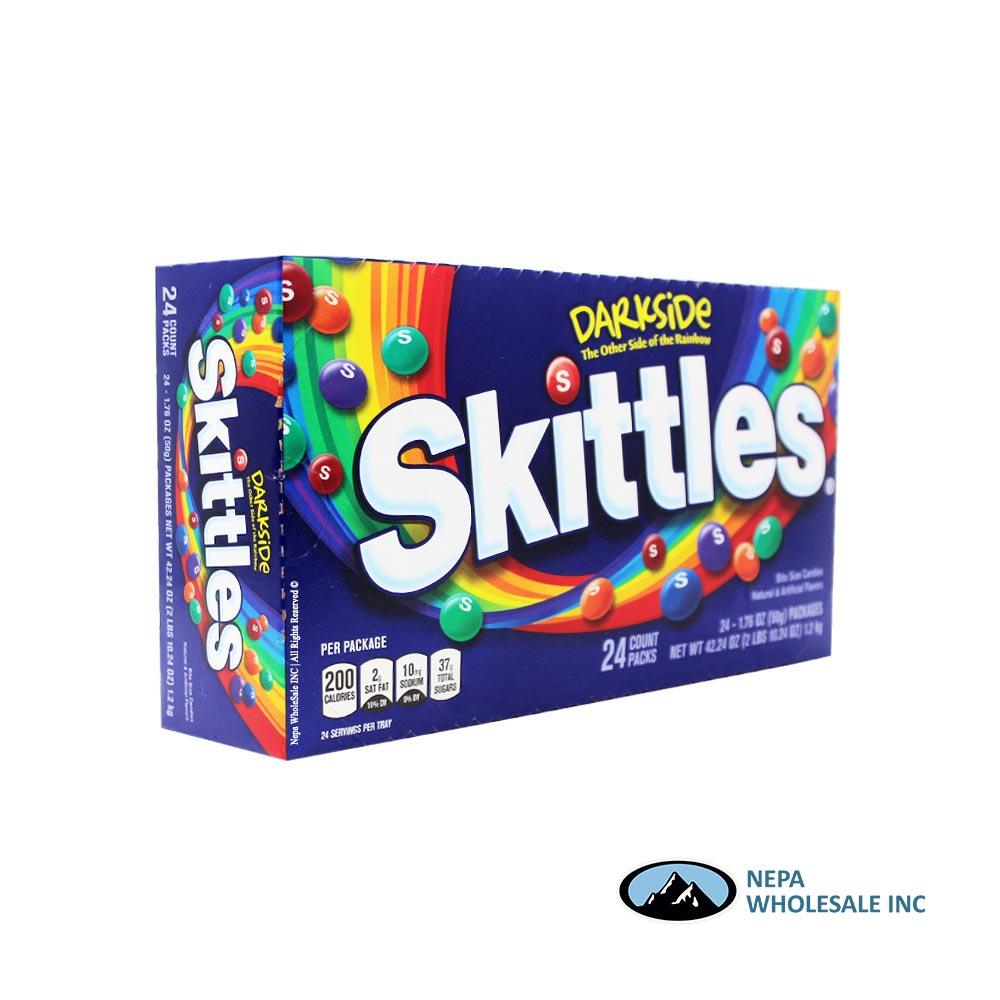 Skittles 24-1 76oz Dark Side (022000127501) - NepaWholeSale INC