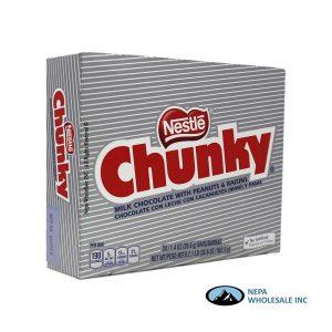 Nestle Chunky 24-1.4oz Candy Bars