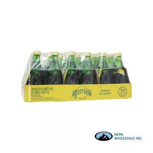 .Perrier Water 24-11 Oz Lemon