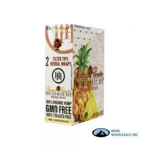 High Hemp 25CT Pineapple Paradise Organic Wraps