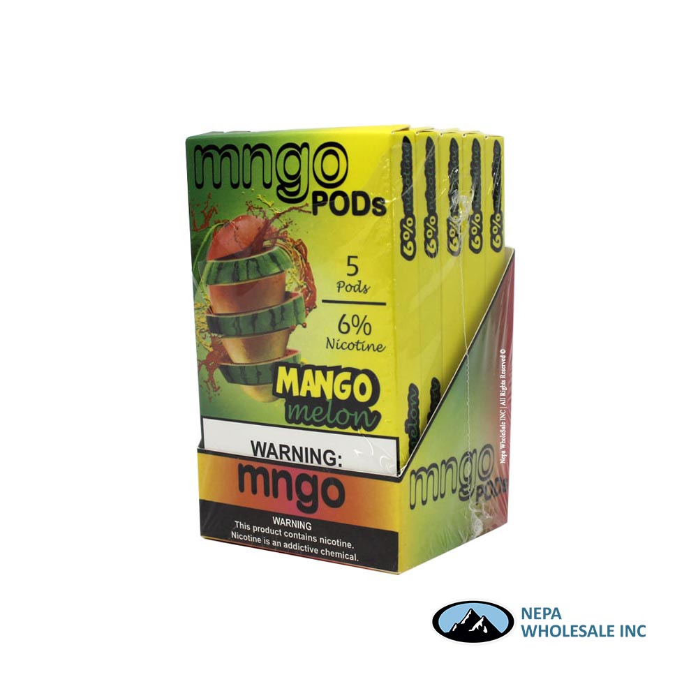 MNGO Pods 5 CT Mango Melon 6% Strength (260209770351