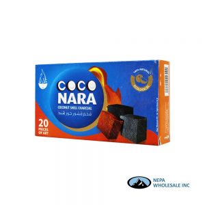 Coco Nara 20 Pieces Coconut Shell Charcoal