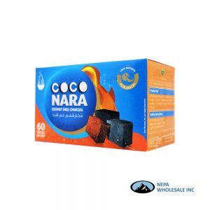 Coco Nara 60 Pieces Coconut Shell Charcoal
