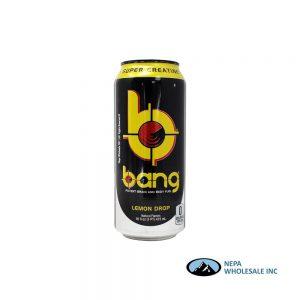 .VPX Bang RTD Lemon Drop 12x16fl.oz. Cans