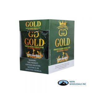 GG Gold Grabba Whole Leaf 10 Packs