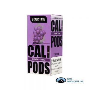 Cali Disposable Sticks 8CT Grape 5% Strength