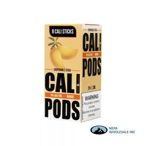 Cali Disposable Sticks 8CT Mango 5% Strength