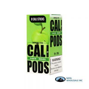 Cali Disposable Sticks 8CT Green Apple 5% Strength