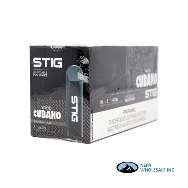 STIG Disposable Pod 6% Cubano 3x10PK