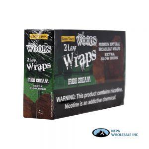 Sweet Woods Wraps 2-25CT Irish Cream