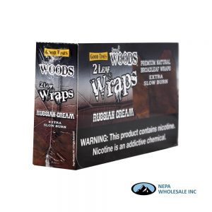 Sweet Woods Wraps 2-25CT Russian Cream