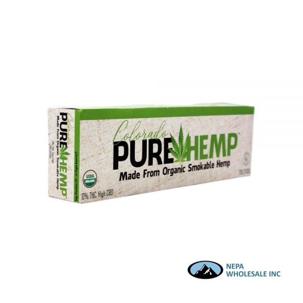 Pure Hemp 10-20 CT Smokable Hemp