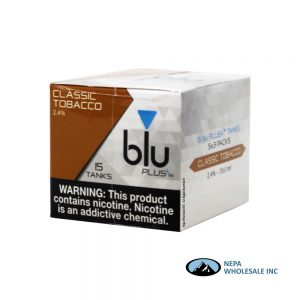 Blu Plus Cartridge 5-3 Tank Classic Tobacco 2.4%