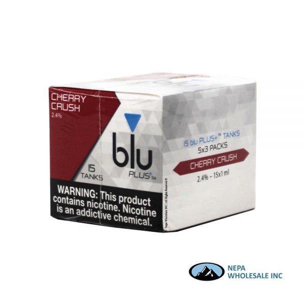 Blu Plus Cartridge 5-3 Tank Cherry Crush 2.4%