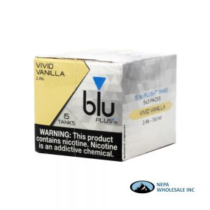 Blu Plus Cartridge 5-3 Tank Vivid Vanilla 2.4%