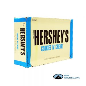 Hershey's 36-1.55 Oz Cookies 'n' Cream
