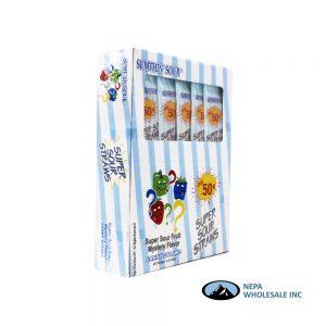 Super Sour Straws 24-1.23 OZ Mystery Flavor