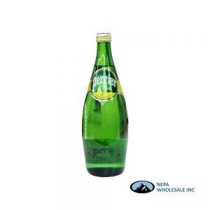 .Perrier Water 12-25 Oz Lemon