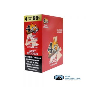 GT 4 Kings Sweet Delicious 4 for $0.99 15 PK