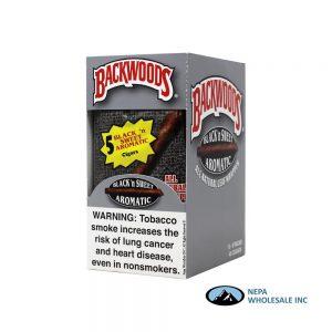 BackWoods 5 PK 40 Black n Sweet Aromatic