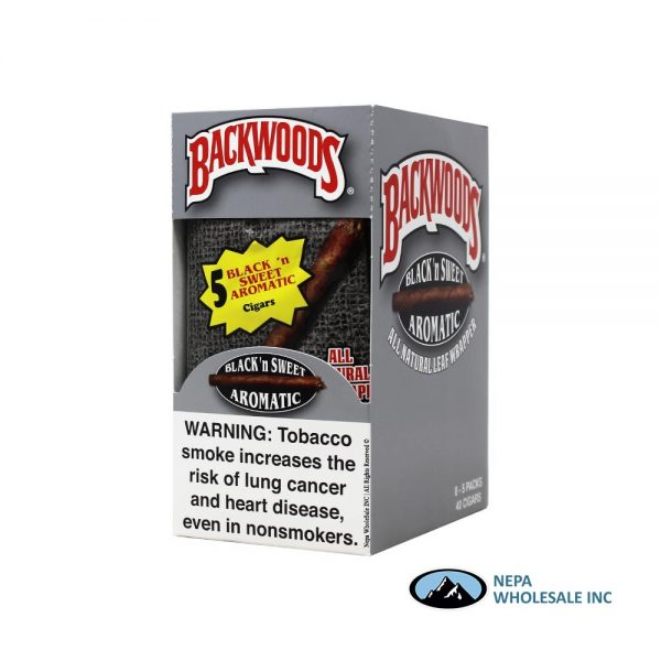 BackWoods 5 PK 40 Black n Sweet Aromatic