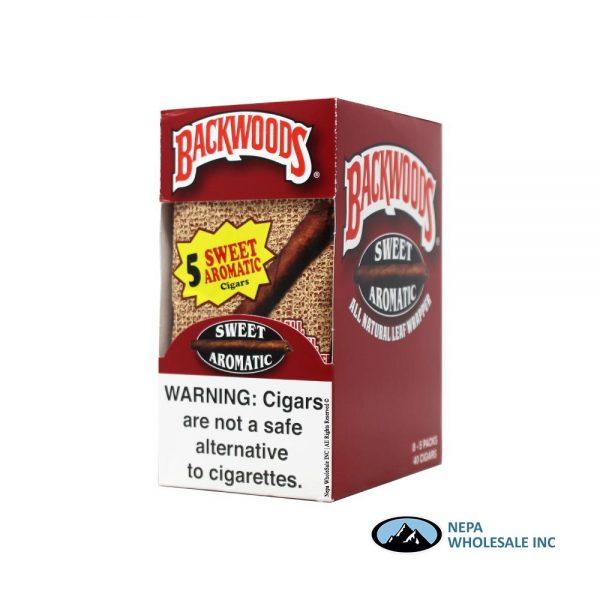 BackWoods 5 PK 40 Sweet Aromatic