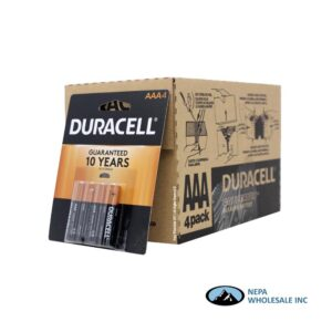 Duracell AAA 4PK 18 CT Copper Top