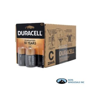 Duracell C 2PK 8CT Copper Top