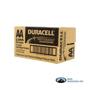 Duracell AA 2PK 14 CT Copper Top