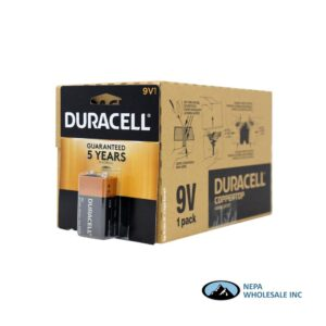 Duracell 9V 12CT Copper Top