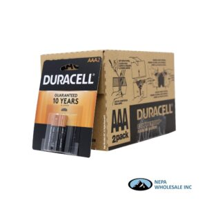 Duracell AAA 2PK 18 CT Copper Top