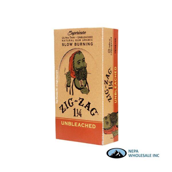 Zig Zag Superieure 1 1/4 24 Booklets Unbleached