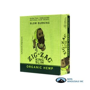 Zig Zag Organic Hemp King Slim 24 Booklets