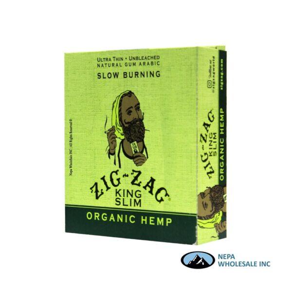 Zig Zag Organic Hemp King Slim 24 Booklets