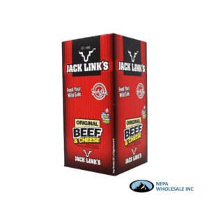 JackLink 16-1.2oz All American Beef & Cheese
