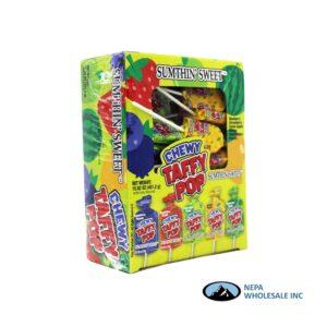 Sumthin' Sweet Taffy Pop Assorted Flavor 48 CT