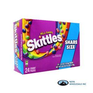 Skittles 24-4 Oz Share Size Wild Berry